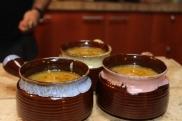 Soupe à l'oignon sans pain